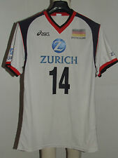 MAGLIA SHIRT PALLAVOLO VOLLEY SPORT MATCH WORN GERMANIA GERMANY BOHME 14