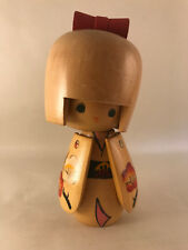 14m Japanese Kokeshi by Tomio - Made in Japan - handmade wooden doll