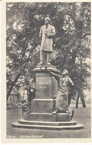 Carte Postale Drapeau Prusse Ouest Elbing Schichau Monument