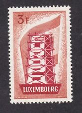 Luxembourg 1956 Europa 3F Very Light Hinge Mint VLHM
