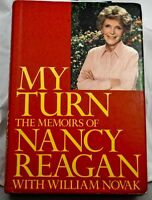 NANCY REAGAN In-person Signed Book: My Turn