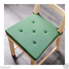 Ikea Justina Chair Pad Green Indoor Outdoor Patio Office Seat Cushion 903.044.22