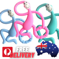 Silicone Baby Teether Teething Safe BPA Free Chew Dummy Toy Strong Design AU