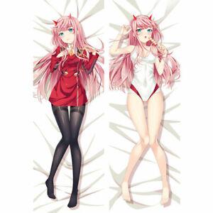 Anime Dakimakura DARLING in the FRANXX Zero Two Body Kopfkissen Pillow Case