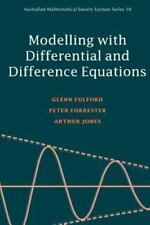Modelling with Differential and Difference Equations (Australian-ExLibrary