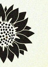 Sunflower Stencil Sunflowers Spring Flowers Garden Stencils