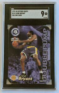 1999-00 Skybox NBA Hoops Calling Card Kobe Bryant #1CC SGC 9 LN