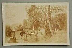 Postcard, Rural Scene, Posted Barnstaple 1909