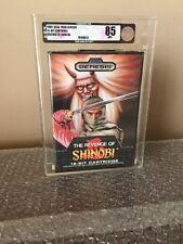 Revenge of Shinobi Sega Genesis Mega Drive NES New Sealed VGA 85+ 1st Print Rare