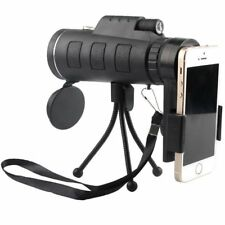 40X60 Zoom Optical HD Lens Monocular Telescope + Tripod + Clip For Mobile Phone