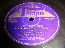 8/4R Horst Winter - Und wieder geht ein schöner Tag zu Ende - Bimba Non Bere