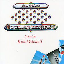 Max Webster: A Million Vacations CD, 1992, Anthem, Kim Mitchell