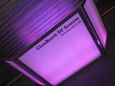Equinox Style Foldable DJ Screen / Glow Booth DJ Screen L@@K