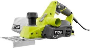Ryobi Corded Hand Planer 6 Amp 3-1/4 in. Powerful Motor Woodworking Kickstand