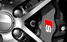 AUDI S Premium Brake Caliper Decals Stickers x6 Sline