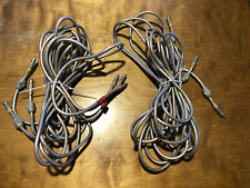 Acoustic Research Master Series*6 Direct Channel RCA Cables*12 FT*Perfect SACD*