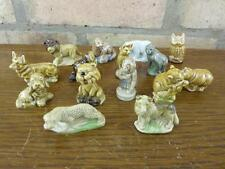 A Nice set of 15 Vintage Wade Whimsies Corgi leopard Polar Bear Etc. #4