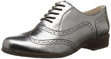 Clarks Ladies Shoes HAMBLE OAK Dark Pewter Metallic UK 5.5 / 39