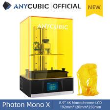 ANYCUBIC SLA Photon Mono X 3D Printer Large Printing 192x120x245mm 4K LCD
