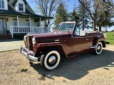 1948 Willys Jeepster Convertible No Reserve must see Video