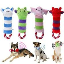 Chew Squeaker Sound Pet Dog Plush Toys Bite-Resistant Pet Supplies Play JD