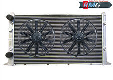 2 Row Aluminum Radiator For 1994-1998 Volkswagen Golf GTI MK3 VR6 1995 96 97+Fan