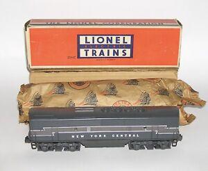High Grade Lionel 2344C NYC F3 Diesel B Unit + BOX NO RESERVE (DAKOTApaul)