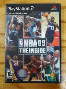 NBA 09 The Inside Sony Playstation 2 PS2 Video Game Complete Very Good!