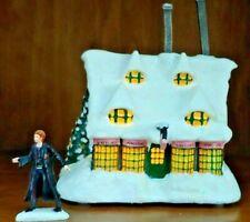 Bradford Exchange Harry Potter Illuminated Village Honeydukes Sweet Shop w/ Ron