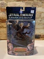 "Star Wars Unleashed Anakin Skywalker 7"" Action Figure NIP 2002 Hasbro"