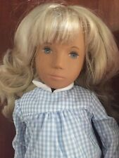 SASHA DOLL 4-107 Blonde Gingham - Complete in Tube - Excellent Cond - England