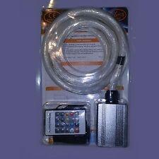 Led & fiber optic star kit for wall ceiling lighting 300pc fibre 9 1/2 feet long