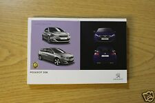 GENUINE PEUGEOT 308 AND 308 ESTATE 2013-2018 OWNERS MANUAL HANDBOOK