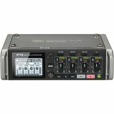 New Zoom F4 Multitrack Field Recorder Timecode  6 Inputs / 8 Tracks Auth. Dealer