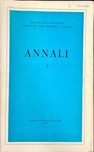 ANNALÌ 4 - SCIENTIFICHE ITALIANE 1965