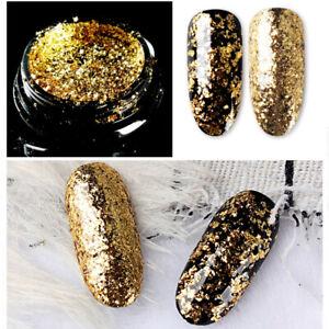 0.2g/Box BORN PRETTY Nail Art Glitter Powder Shining Sequins  Decor Tips