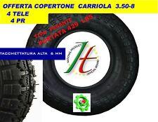 COPERTONE X RUOTA PER CARRIOLA ,  3.50 - 8  MODELLO VESPA