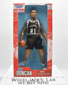 """Tim Duncan 12"""" Starting Lineup NBA 1998 Edition Kenner Sports Action Figure"""