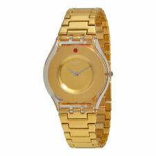 Swatch Stainless Steel Band Adult Analogue Wristwatches