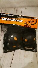 Mongoose Gel Knee & Elbow Pads Set Extreme Gear MG506