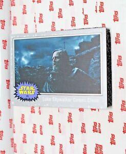 2019 Star Wars Journey Rise of Skywalker Silver #85 Luke Skywalker Comes Clean