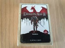 Dragon Age 2 Playing Cards. NEW AND SEALED. FREE UK P&P!