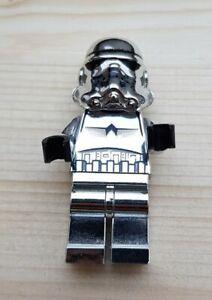 Lego 4591726 Star Wars Chrome Silber Storm Trooper Minifigur sw0097
