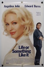 LIFE OR SOMETHING LIKE IT - A Jolie - Original Movie Poster - 2002  Rolled DS C9