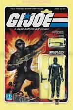 GI JOE A REAL AMERICAN HERO #215 ACTION FIGURE SNAKE EYES COMMANDO VARIANT COVER