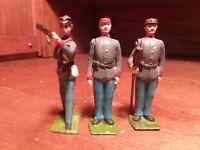 Rare Vintage Britains Civil War 3 figure Confederate Artillery