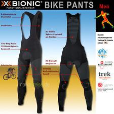 X-Bionic homme : Culotte De Cyclisme Cuissard Bib bike pantalon long étroit