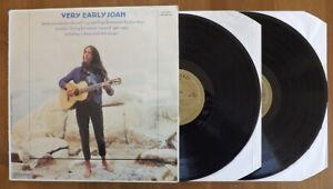 JOAN BAEZ - Very Early Joan - Double vinyl album - 1982 -  Vanguard (VSD 79436)