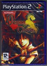PS2 Demon Chaos (2007), UK Pal, Brand New & Sony Factory Sealed