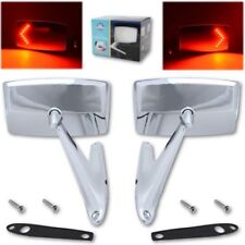 1967 1968 FORD MUSTANG SIDE MIRROR LED SET REAR VIEW DOOR MIRRORS  LED